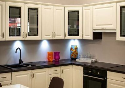 modern painted kitchen cabinets